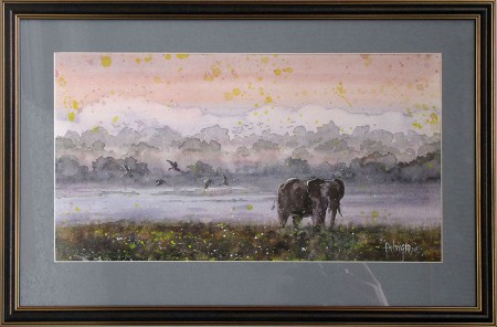 watercolorserengeti
